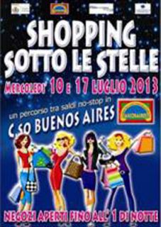 Milano, Shopping sotto le stelle